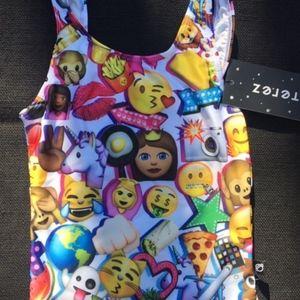 638a212502 Zara Terez Swim - Zara Terez Girls' Emoji Swimsuit